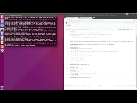 Robot Operating System (ROS) on NVIDIA Jetson TX2 - JetsonHacks