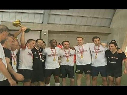 Football - Team One Lebanon v/s Team Ambassadors - 27/6/2015