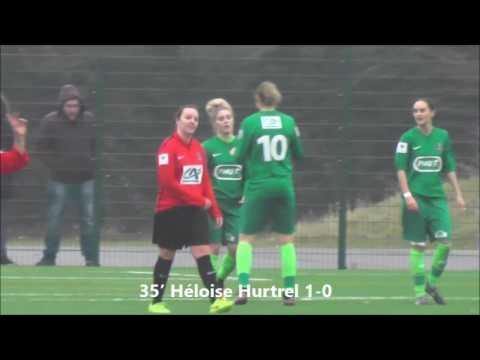 Les buts de Hénin-Beaumont en 1/16ème de finales de Coupe de France Féminine contre Calais RUFC