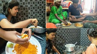#vlog ఇంట్లోనే ఫ్యామిలీతో😍 variety vlog❤️/thulasi vlogs fun family vlog at home/cooking with thulasi