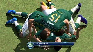 PES 2015 (PC) Palmeiras x Manchester United - Gameplay