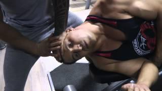 видео Как накачать мощную шею без борцовского моста? Тренировка мышц шеи для бойцов с Павлом Бадыровым