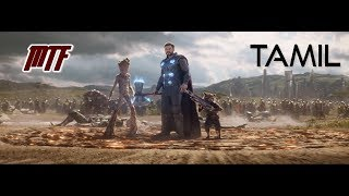 Infinity War: Thor arrives to Wakanda In Tamil Marvel Tamil Fans