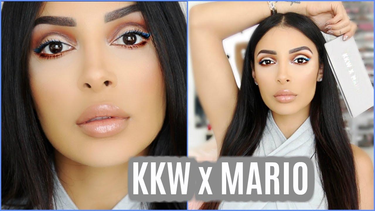 Kim Kardashian Beauty x MARIO palette ⎮Nude & blue liner + vaut-elle le coup ?