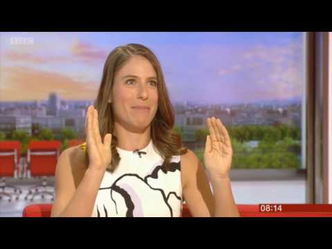Jo Konta BBC Breakfast 2017