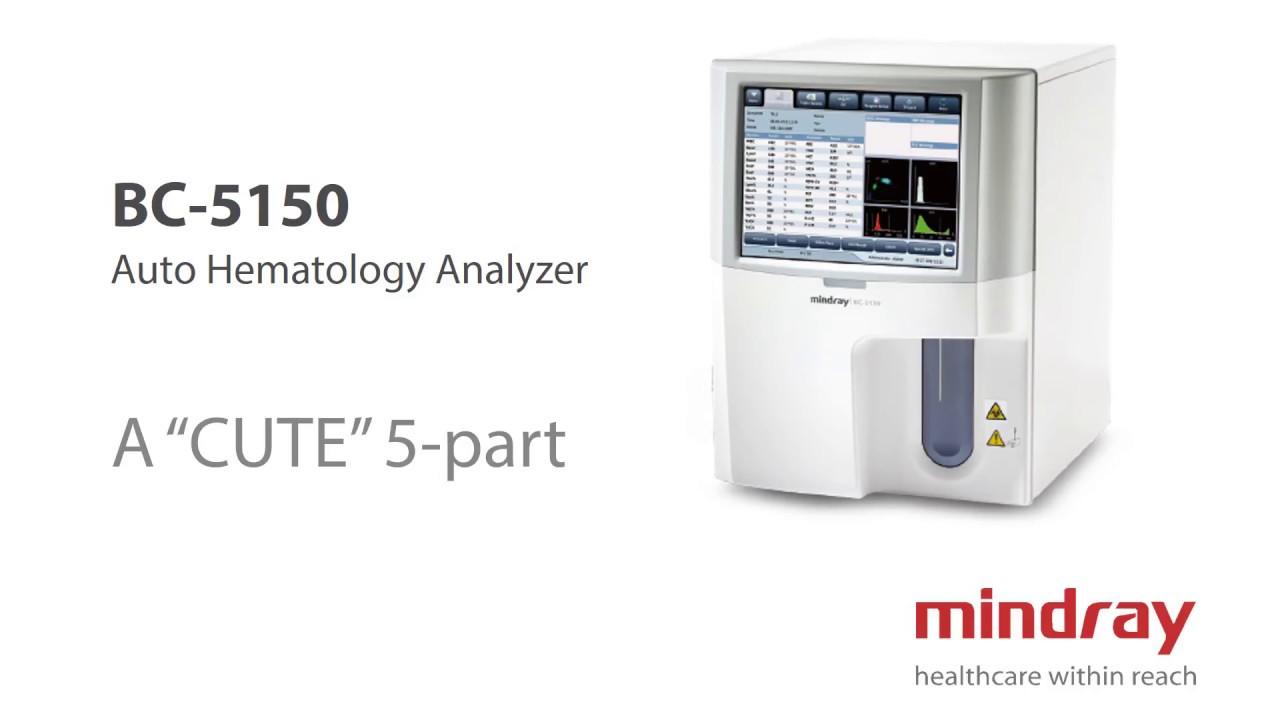 Mindray BC-5150 Auto Hemaltology Analyzer |