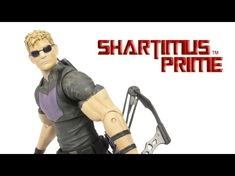 Marvel Select Avenging Hawkeye Marvel NOW Modern Fraction Comic Version Action Figure Review