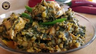 Kulfa Saag &amp chicken recipe  Purslane leaves,stem &amp chicken curry by Cooking with Asifa