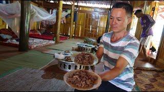 Về với Bản Thưởng Thức Món  Nhau Thai Trâu | |Hoa Ban Tây Bắc