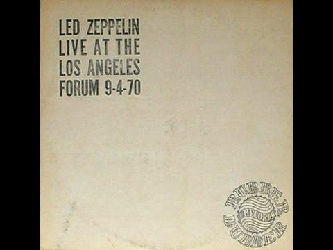 Led Zeppelin LA Forum 9-4-1970 Live On Blueberry Hill pt 2