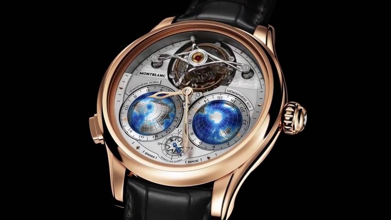 cb73f2a64 Montblanc Tourbillon ساعة رائعة جداً من مون بلان - YouTube