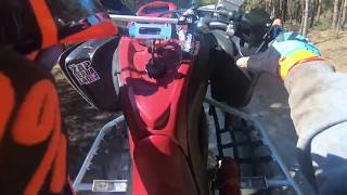 Yamaha Raptor 700 First Fail Science Wheelie Stunt ATV