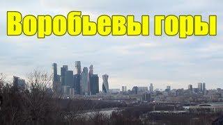Смотреть видео Куда сходить в Москве Воробьевы горы Красивый вид Интересные места онлайн