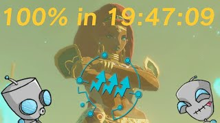 Breath of the Wild 100% in 19:47:09