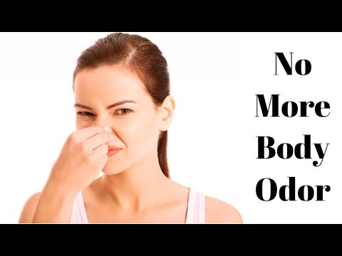 HOW TO: Get Rid of Body Odor For Sure| Natural Remedies To Tackle Body Odor