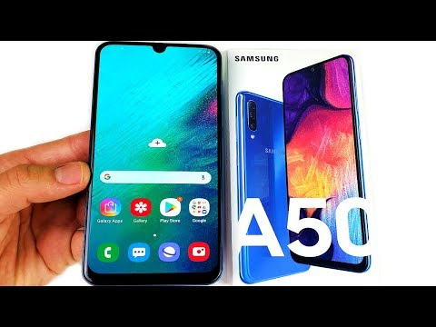 Galaxy A50 Unboxing!