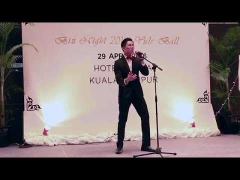 Justin Bieber - Love Yourself ( Live Cover By WueyTshuan on Biz Night 2016 )