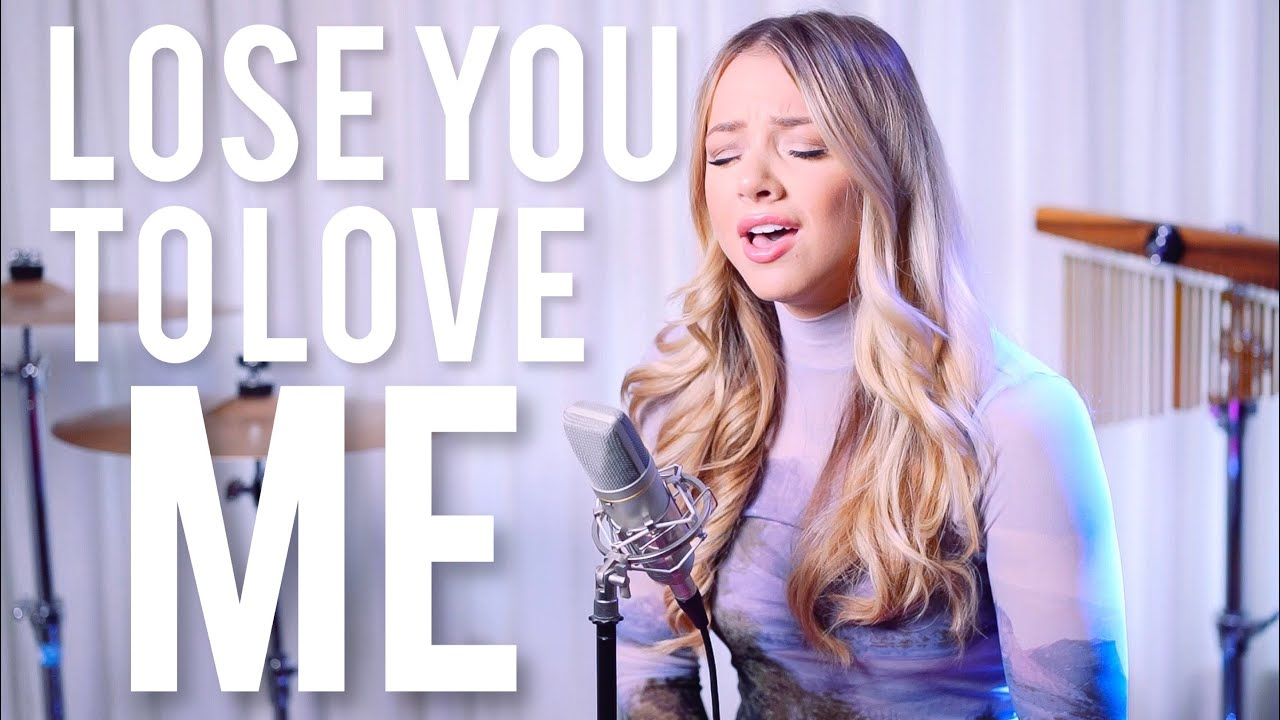 Selena Gomez Lose You To Love Me Emma Heesters Cover Youtube