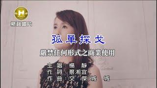 楊 靜-孤單探戈【KTV導唱字幕】1080p
