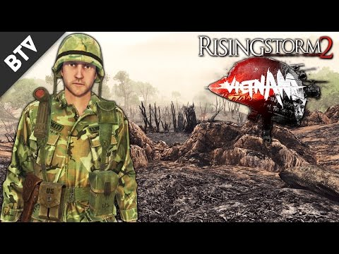 EPIC HILL ASSAULT! | Rising Storm 2: Vietnam Gameplay