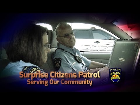 Volunteer with the Surprise Police Department Citizens Patrol video thumbnail