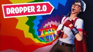 Rainbow Dropper 2.0 | FORTNITE DROPPER MAP (Code in Description!)