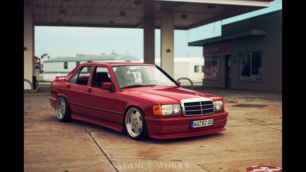 tuning mercedes benz 190e w201 stance works youtube. Black Bedroom Furniture Sets. Home Design Ideas