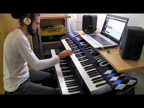 Cinema Show - Genesis (keyboard solo cover) mp3