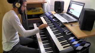 Cinema Show - Genesis (keyboard solo cover)