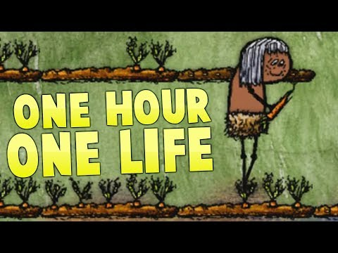 One Hour One Life - A Real Farming Civilization -  Teaching My Kids - One Hour One Life Gameplay