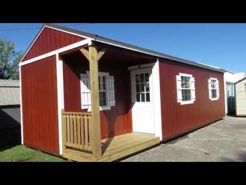 NEW DERKSEN 16X36 Side Cabin | Doovi