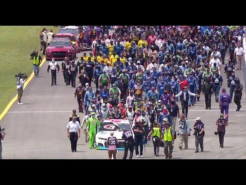 NASCAR unites around Bubba Wallace at Talladega Superspeedway | NASCAR Cup Series