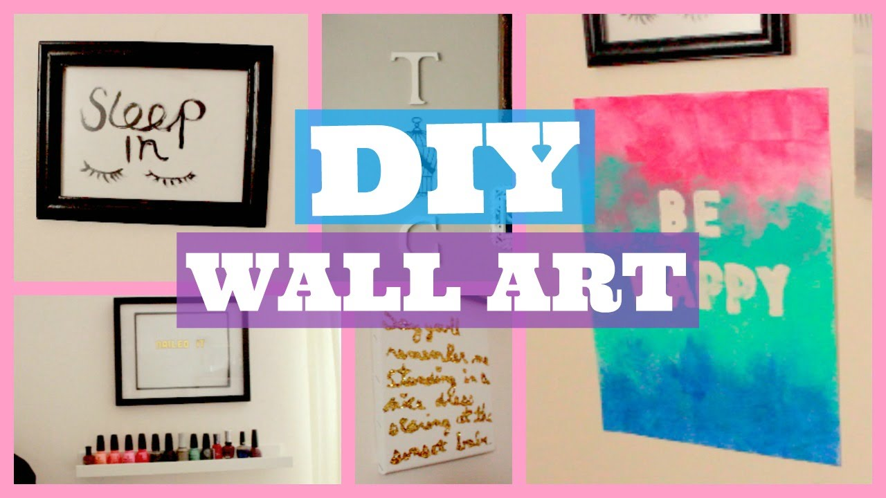 DIY Room Decor | Prints + Wall Art | PART 2