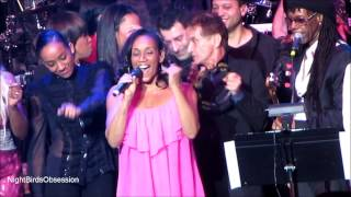Nile Rodgers & CHIC feat Kathy Sledge WE ARE FAMILY We Are Family Fdtn Gala NYC HD 1.31.2013