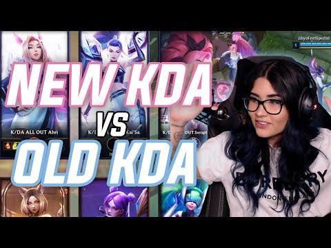 New K/DA ALL OUT vs Old K/DA