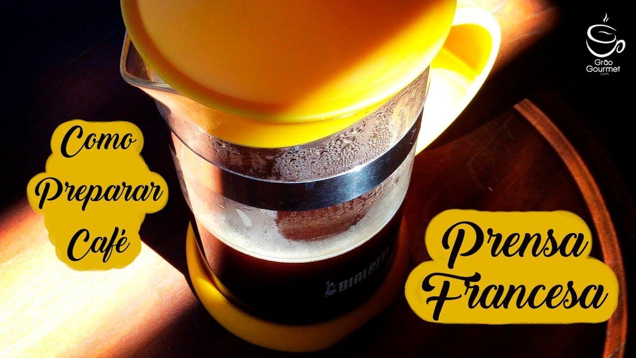 d1f4cbebe5306c Como preparar café na Cafeteira Prensa Francesa em 10 passos fáceis ...