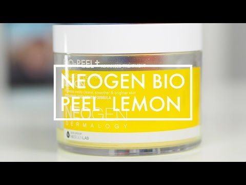 Neogen Dermalogy Bio-Peel Gauze Peeling Lemon REVIEW + DEMO (Bahasa Indonesia)