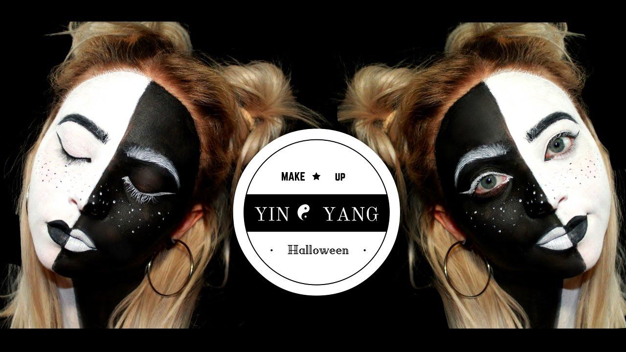 Yin Yang Makeup Tutorial 2016 Cinzikoalina