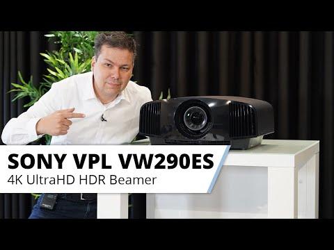 SONY VPL-VW290 UHD 4K Beamer Vorstellung - echtes 4K im Heimkino!