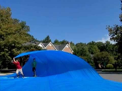 Tarp Surfing (50 x 60 ft.)