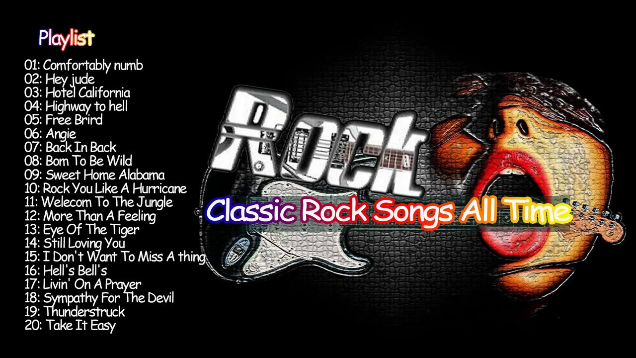 top 100 classic rock songs all time youtube. Black Bedroom Furniture Sets. Home Design Ideas