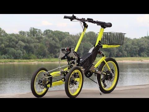 New EV4 e-trike Bike
