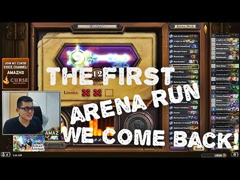 Hearthstone Arena - This deck actually pretty sweet!