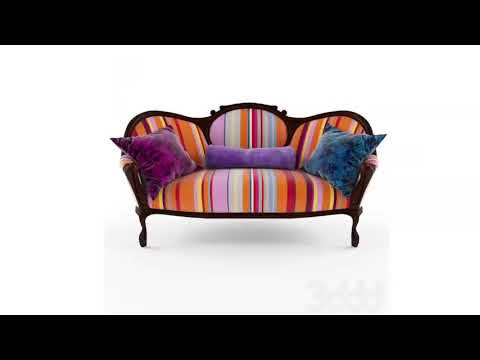 Free New 3D Models Sofa Group 4 3ds Max Vray