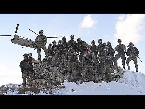 Pararescuemen Conduct Training Via CH-47 Chinook In The Mountains Of Afghanistan