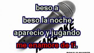 BESO A BESO MERENGUE KARAOKE WMV V9