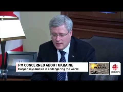 Russia is a threat to global security: Canadian PM Harper