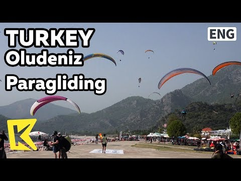 【K】Turkey Travel-Oludeniz[터키 여행-욀뤼데니즈]패러글라이딩 명소/Paragliding/Attraction/Sky Sports/Ataturk