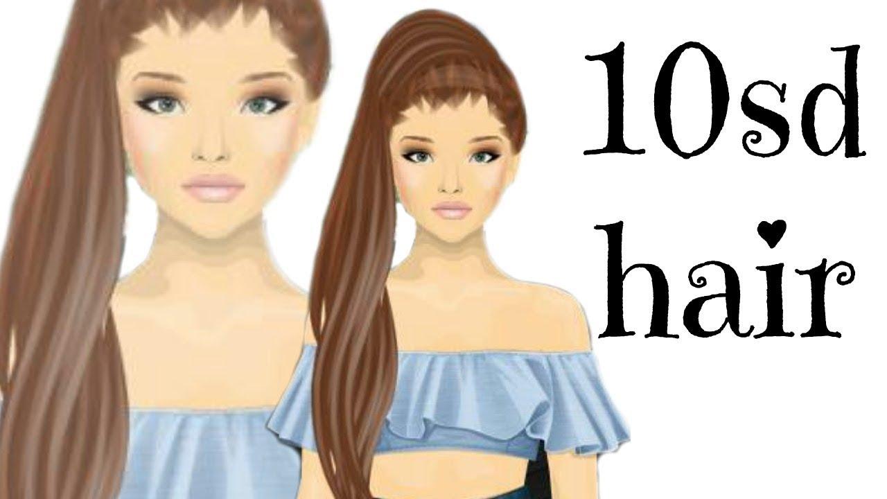 stardoll 10 stardollars hair design