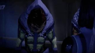 Mass Effect 2 - Krogan wants a Citadel fish